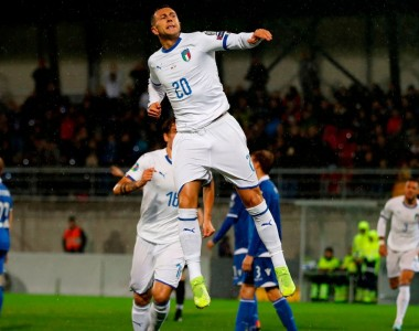 Italy stay perfect in European Championship qualification with easy win in Liechtenstein